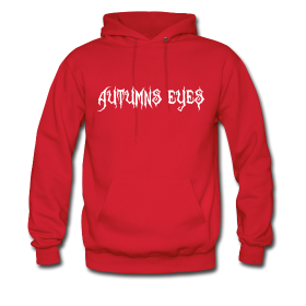 Guys - White On Red - Hoodie | $40